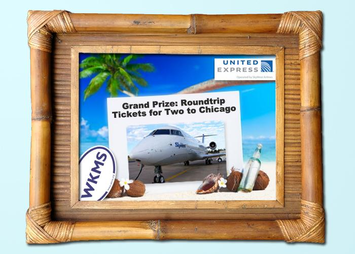 Grand Prize: Two round trip tickets courtesy of United Express operated by SkyWest Airlines from Paducah to Chicago!