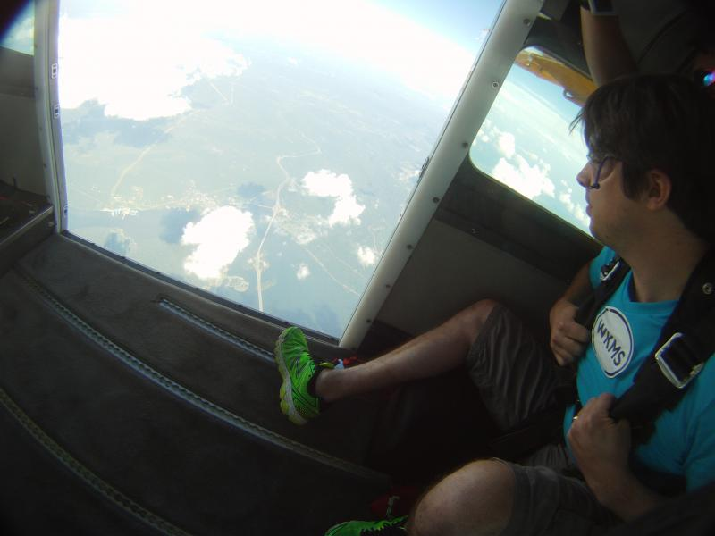 Chris Taylor brings WKMS to the airwaves of Chattanooga on a skydiving trip!