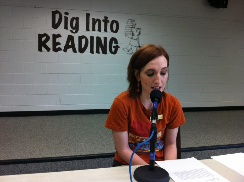 Emily Robertson, Calloway County Public Library
