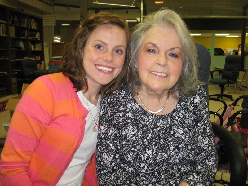 Barbara Flechtner and granddaughter Megan Whitfield