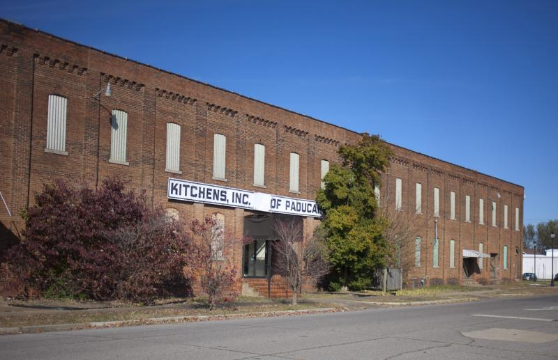 Kitchen's Inc. building, which will soon be renovated as the last phase of the Paducah School of Art and Design expansion.