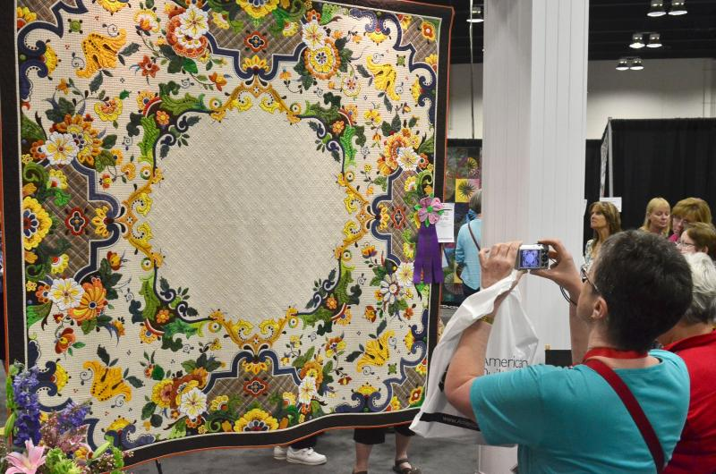 Arandano Is The Winner Of The 2016 Aqs Quilt Show Wkms
