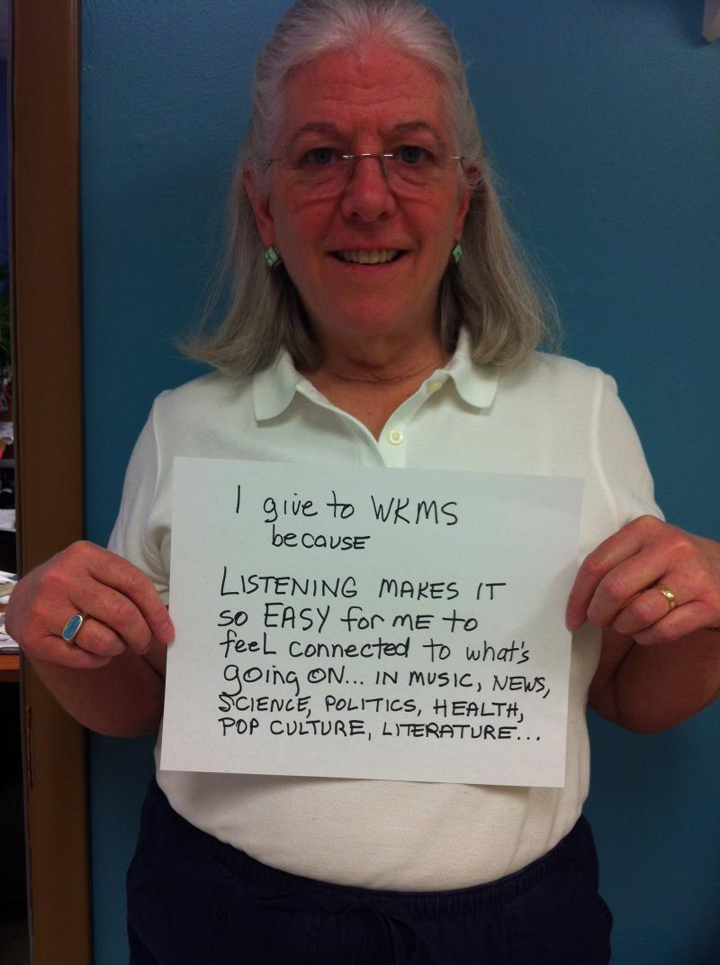 WKMS Station Manager Kate Lochte