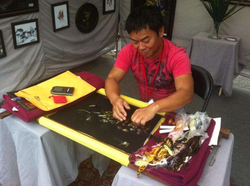 Artisan at 2013 LowerTown Arts & Music Festival