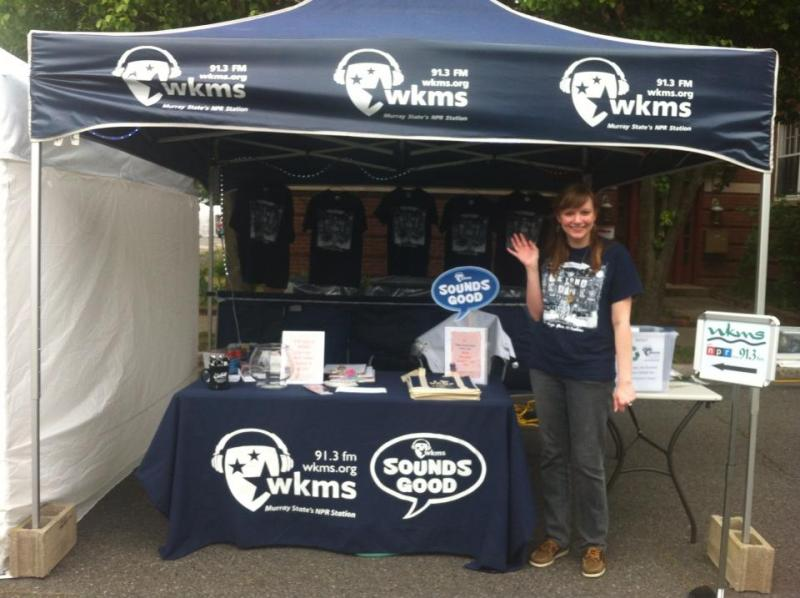 Stop by the WKMS Booth!