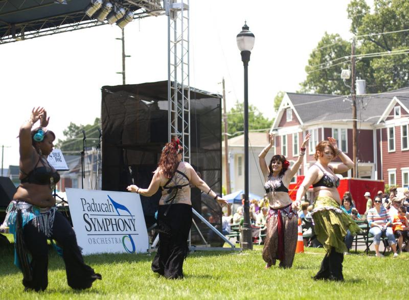 Belly Dancers at 2013 LowerTown Arts & Music Festival