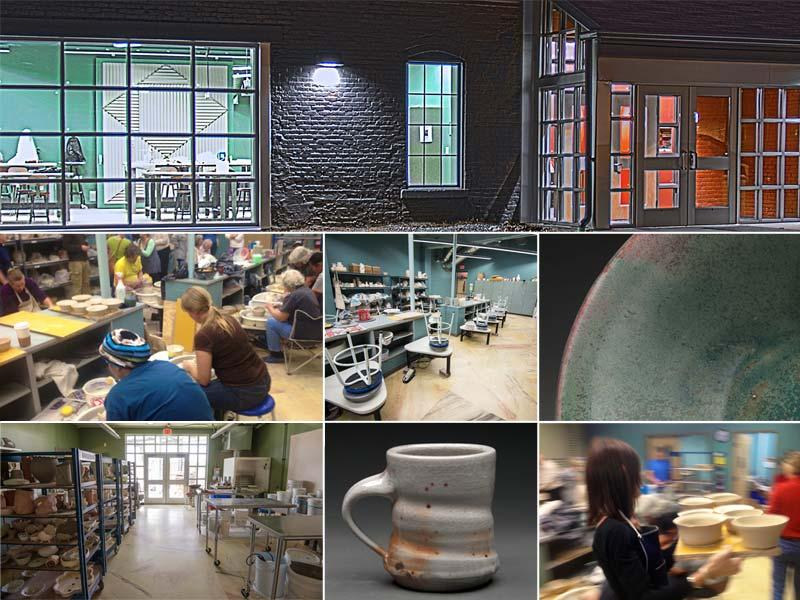 Ceramics Lab in Madison Hall