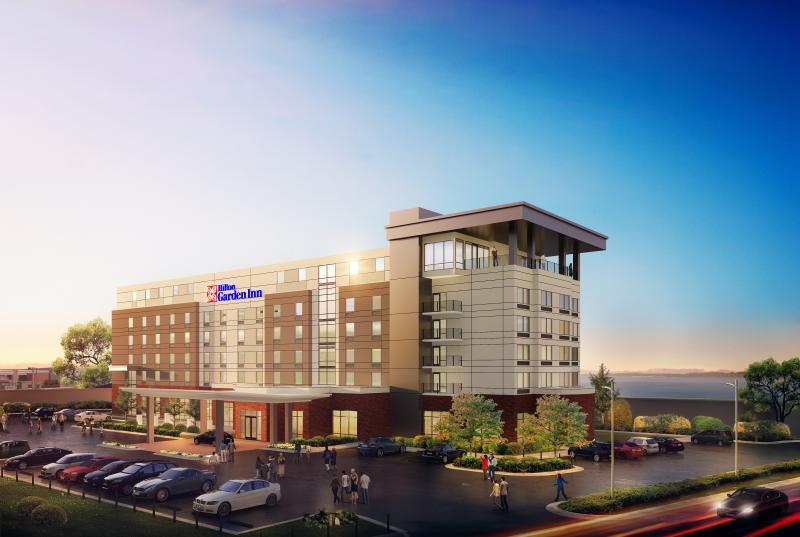 Paducah Riverfront Hotel Progressing