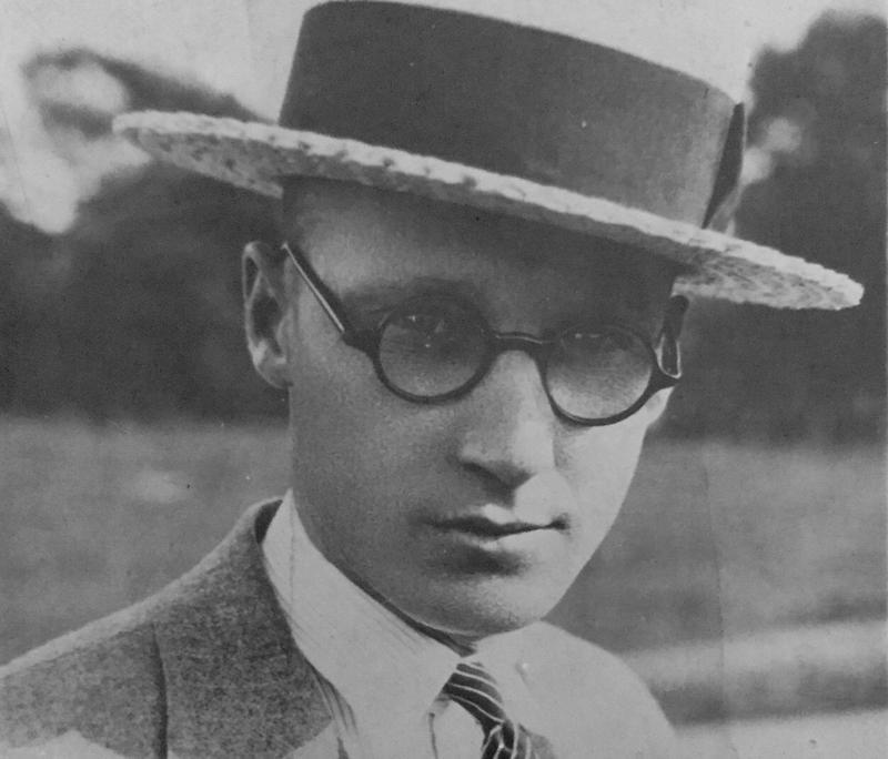 John T. Scopes in 1925.