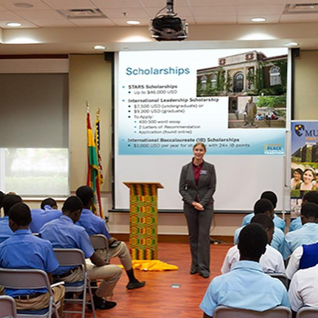 msu visits the educationusa center in accra ghana to speak to prospective students - International Student Recruiter