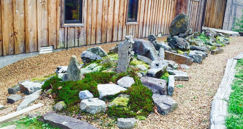 Nita and Bob's rock garden