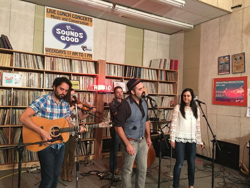 The Carmonas on Sounds Good Live Lunch