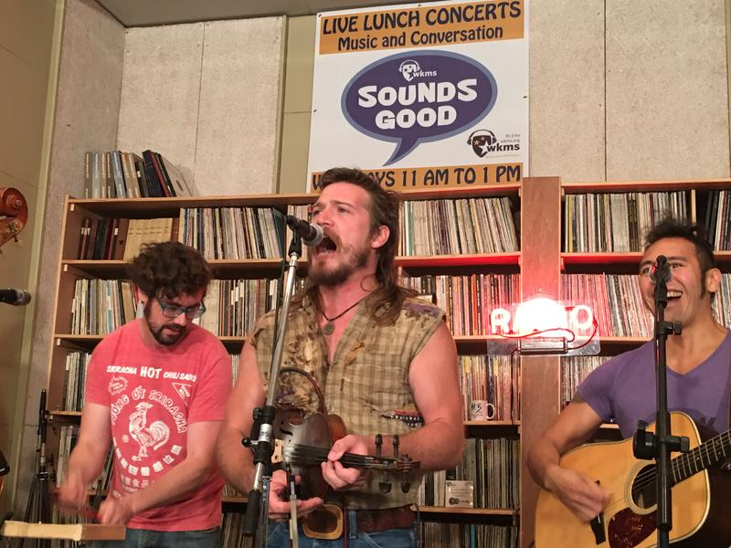 Whiskey Shivers on Sounds Good Live Lunch