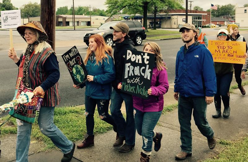 """""""March for Science"""" Broadway Street Paducah"""