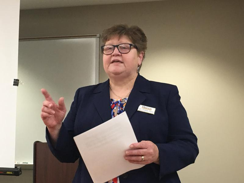 Breathitt Veterinary Center Director Debbie Reed