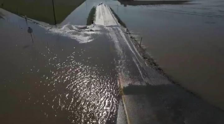 Flooding in Daviess County has put many roads under water
