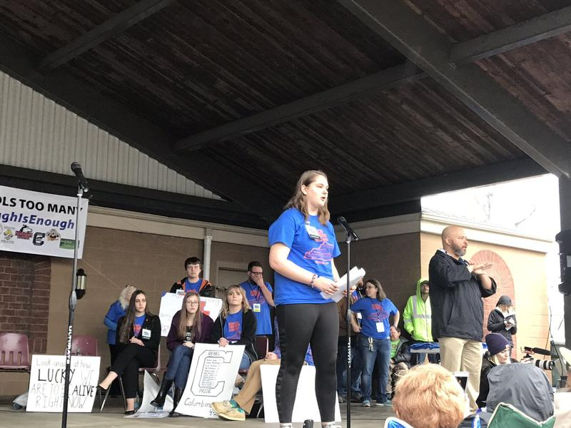 """""""I'm forever grateful I was late to school that morning."""" --Lily Dunn, a freshman at Marshall County High School"""