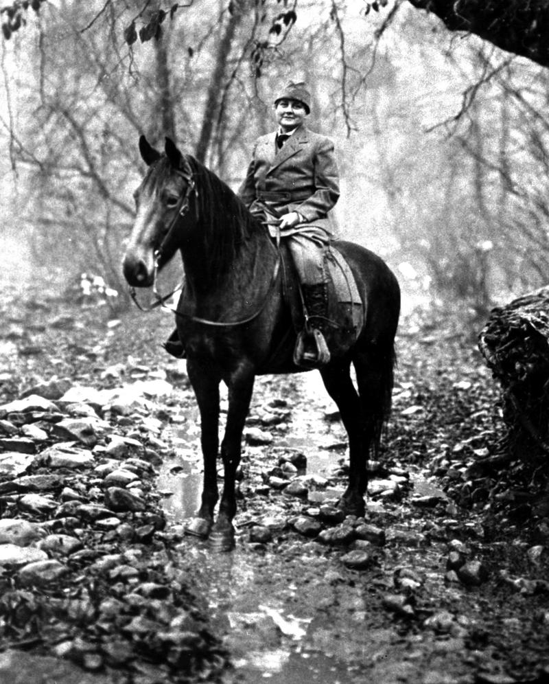 Mary Breckinridge on Horseback