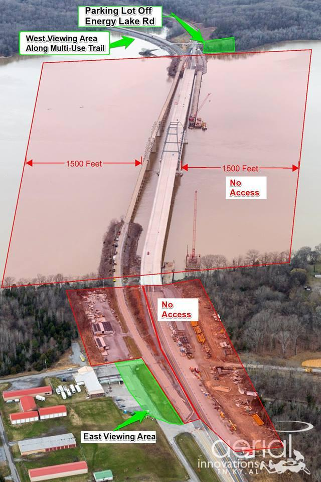 Public Viewing Options for Explosive Demolition of Old Lake Barkley