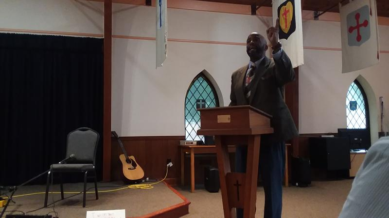Hopkinsville Councilman Elect Rev. Dr. Darvin Adams was the keynote speaker for the event at Grace Episcopal Church in Hopkinsville, Ky.
