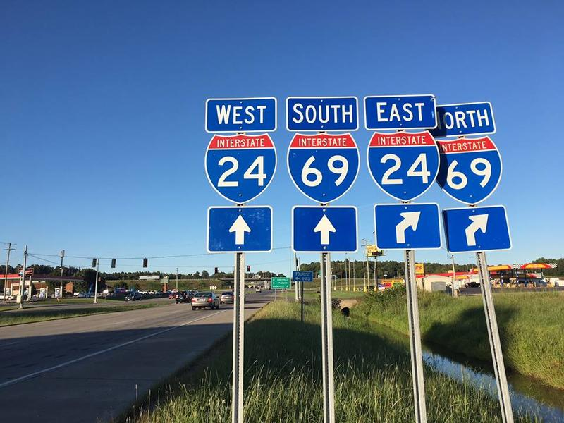 I 69 Tennessee Map.Completion Of Interchange Projects Adds 30 Miles Of Interstate 69 In