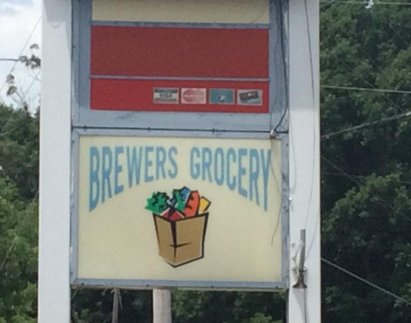 The Brewers Grocery is an unassuming old gas station in Marshall Co., Ky.