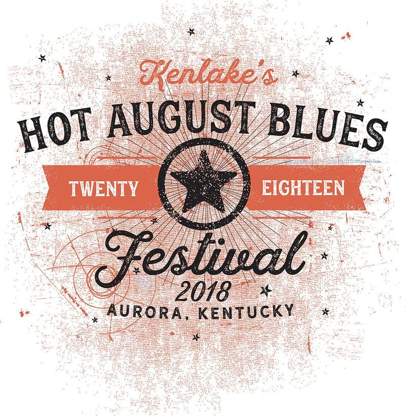 The Kenlake Hot August Blues Festival will take place at the Kenlake State Resort Park Lodge and Amphitheatre on August 23, 24, and 25th.