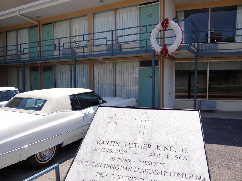 The National Civil Rights Museum in Memphis encompasses the Lorraine Motel, where Martin Luther King Jr. was assasinated in 1968.