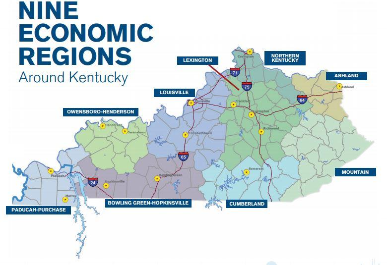 The region saw a 3.5% increase in job growth compared to statewide growth of just over 10%.