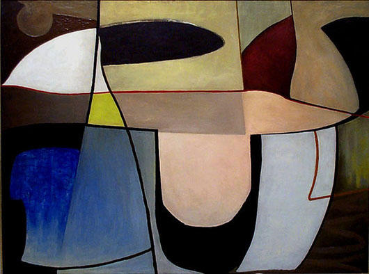 """""""Untitled,"""" by Alice Trumbull Mason, 1939, oil on canvas, 30 x 40 in."""