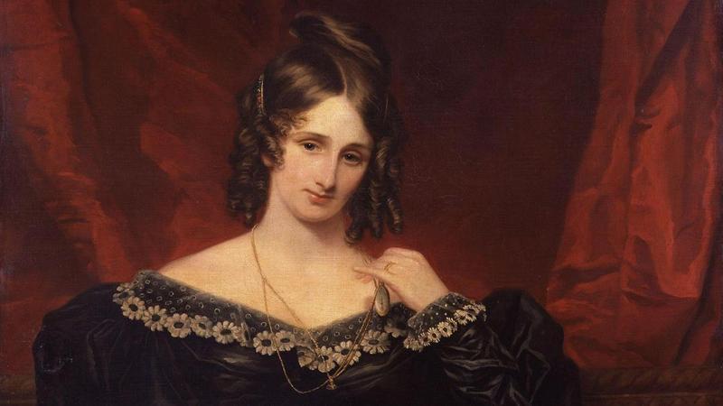 Mary Shelley, 1831. Artist: Stump, Samuel John (1778-1863).