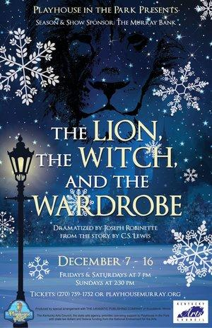 """""""The Lion, The Witch and the Wardrobe"""" will be presented at Playhouse in the Park from December 7th to December 16th."""