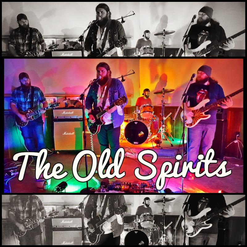 The Old Spirits (left to right: Dustin Irvan, Evan Dodd, Nick Laws, and Samuel Parker) will be recording their upcoming album at Paducah's Loud and Clear Studios.