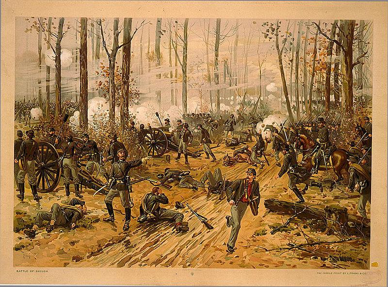 Battle of Shiloh by Thure de Thulstrup, 1888