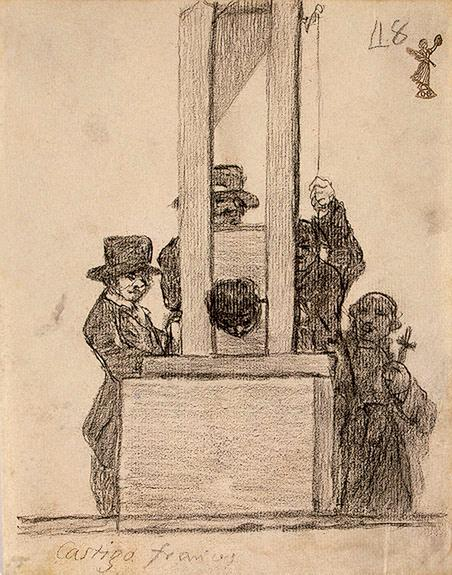 The French Penalty, by Francisco de Goya
