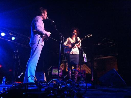 Jesca Hoop and Chris Thile at Cannery Ballroom