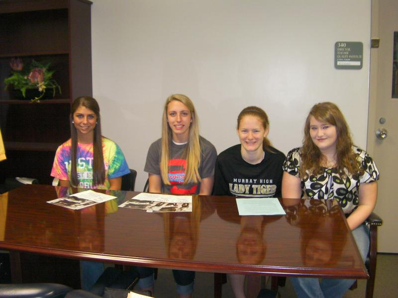 From left to right, the kids are: Taylor Futrell, Cheyenne Maddox, Bethany Sholar, Taylor Sheridan