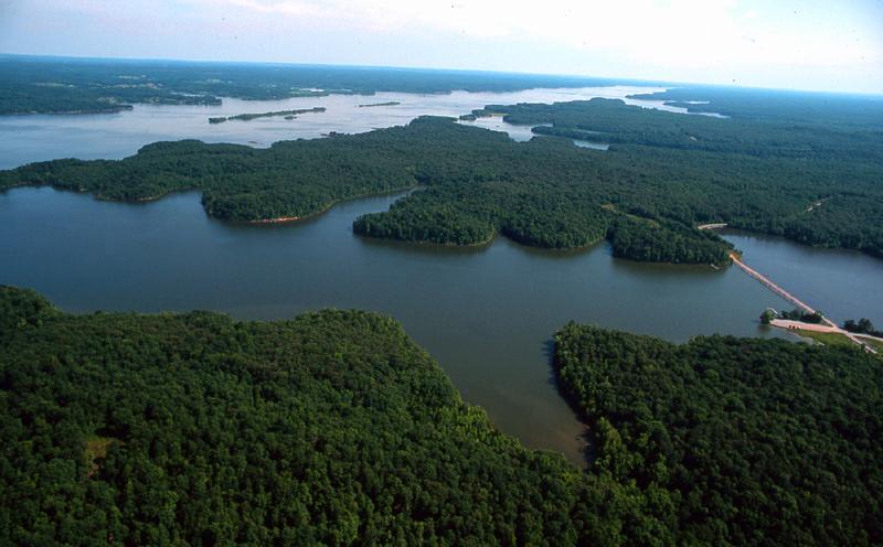 Low water levels at lake barkley and kentucky lake wkms for Kentucky lake fishing