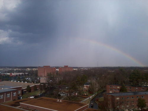 Murray shortly after Friday's storms