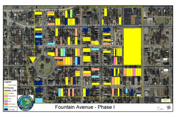 The Fountain Avenue Sitemap