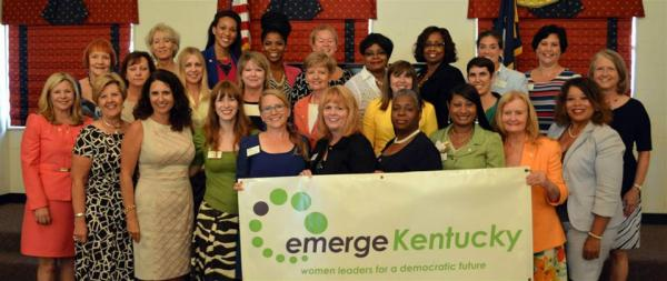 Emerge Kentucky 2014 Group, Jennifer Moore in front row, third from the left