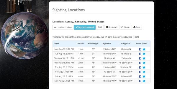 NASA's International Space Station Will Be Visible Tonight ...
