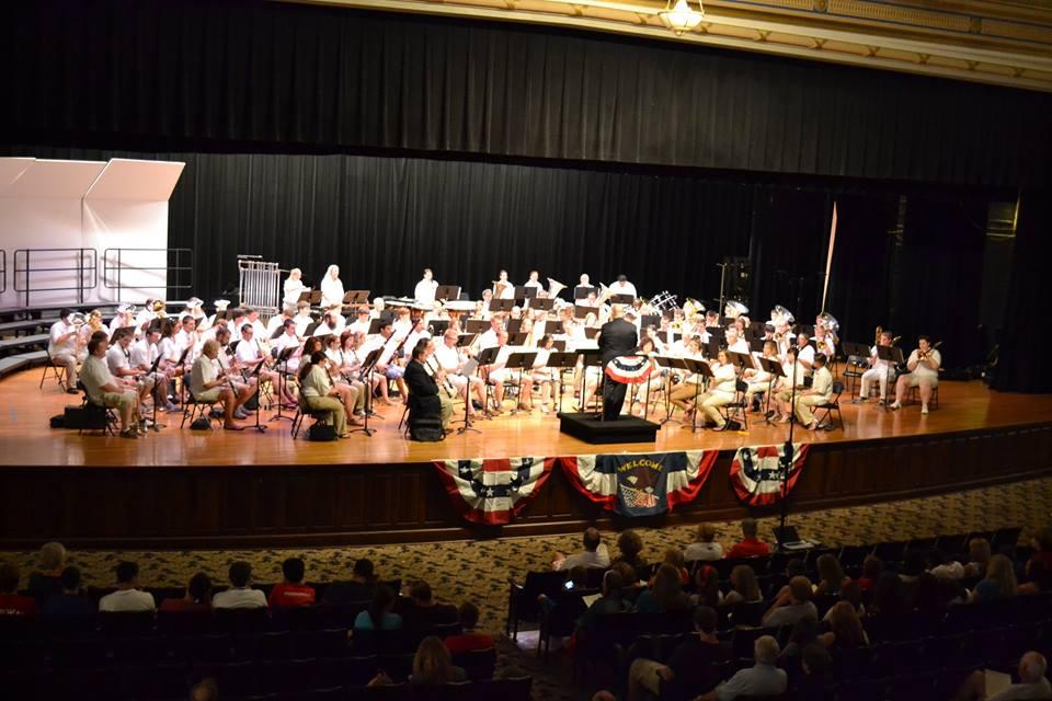 Summer Concerts by MSU Town & Gown Community Band   WKMS