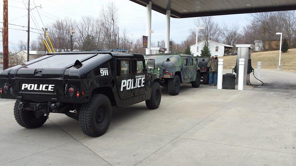 Used Military Vehicles >> Surplus Military Vehicles Used For Emergency Response In