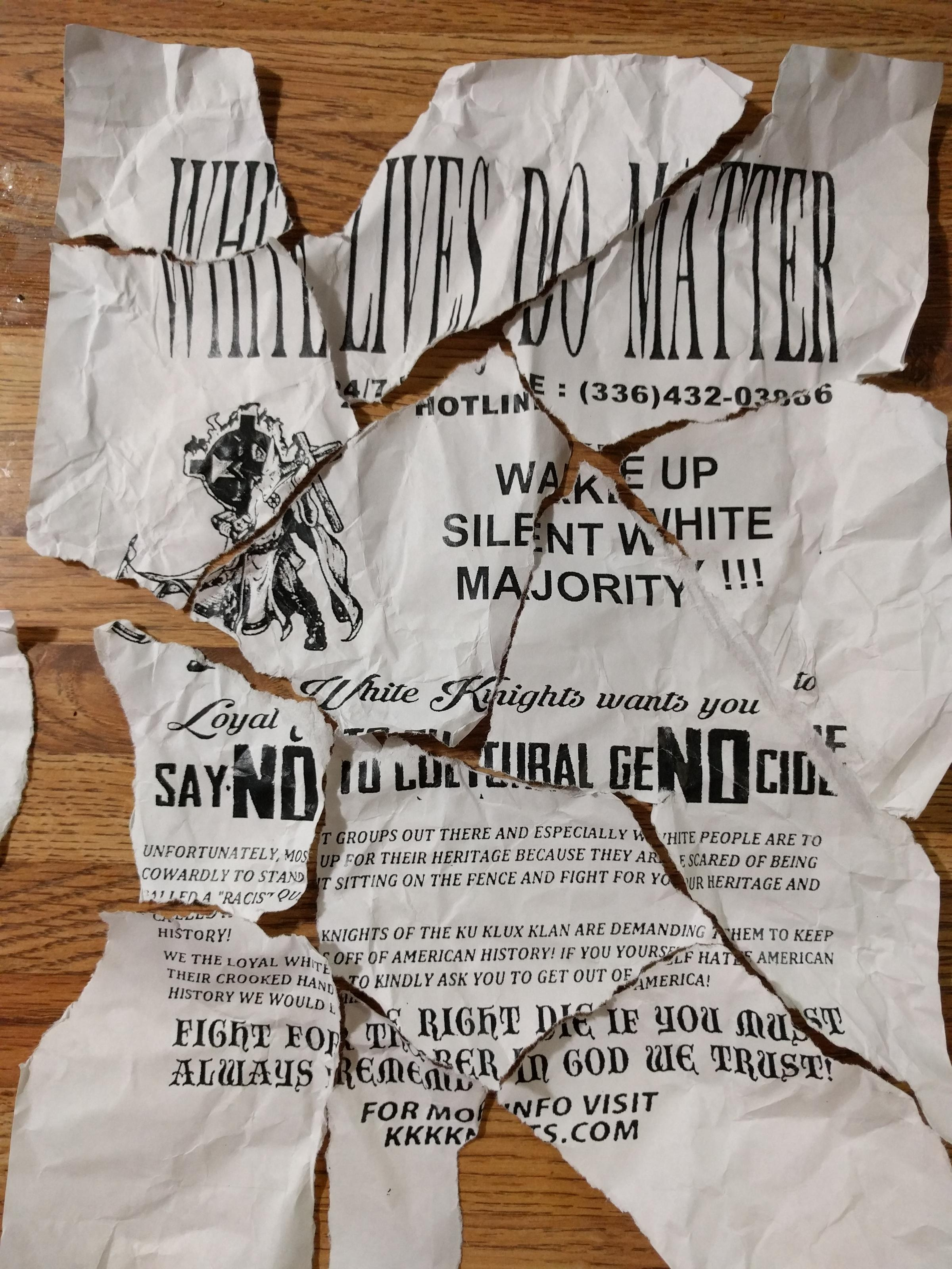 kkk recruitment letters circulate in murray wkms view slideshow 3 of 5
