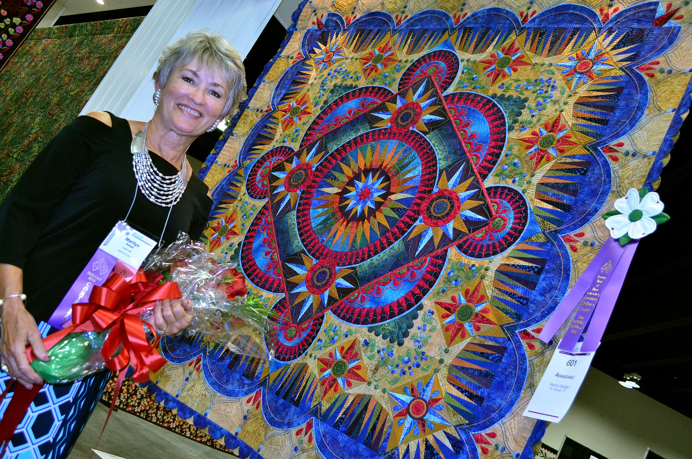 Arandano' is the Winner of the 2016 AQS Quilt Show | WKMS : show quilts - Adamdwight.com