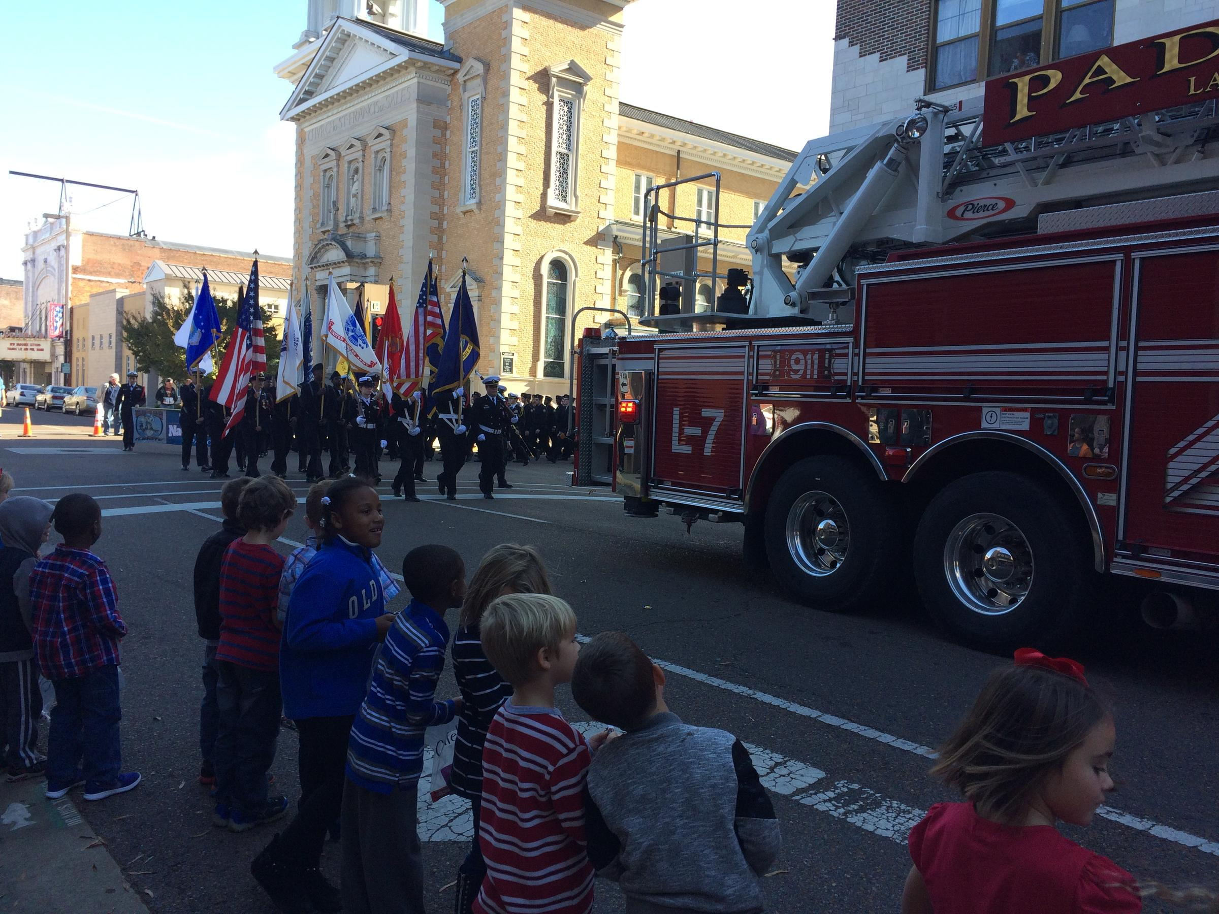 Albany Veterans Day Parade Draws Thousands