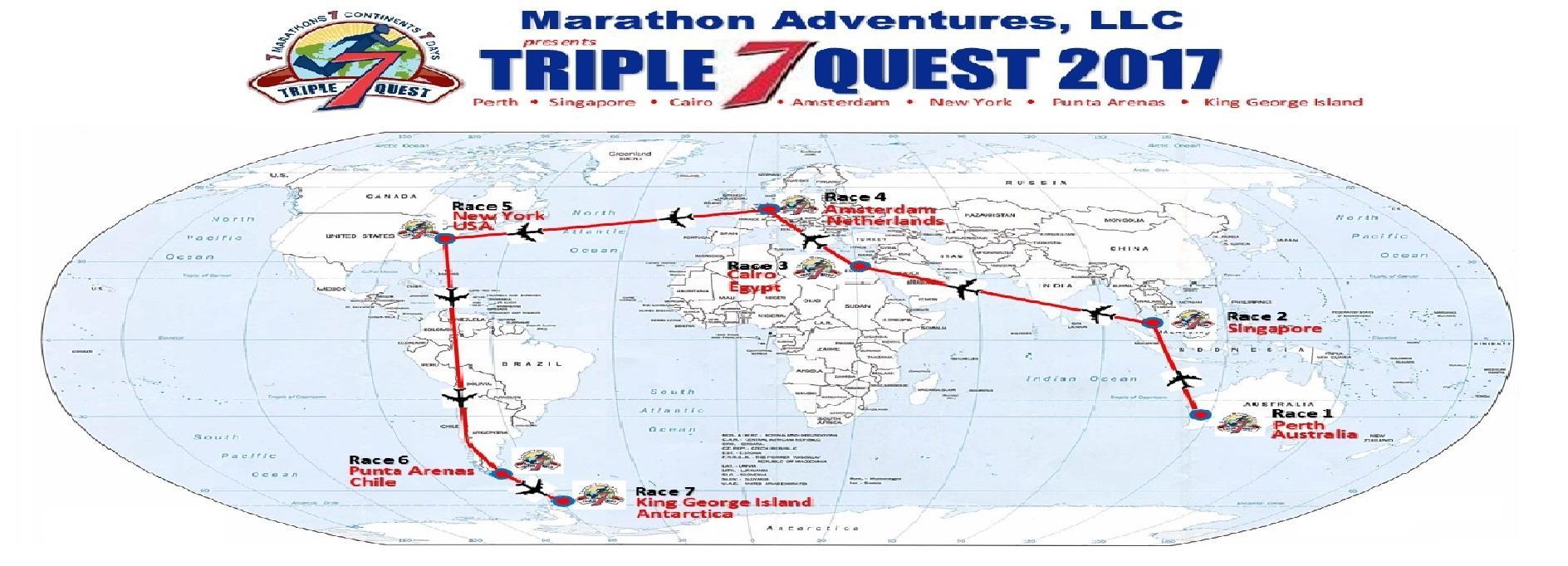 Map Of New York Marathon 2017.Western Kentucky Man Running 7 Marathons In 7 Continents In 7 Days