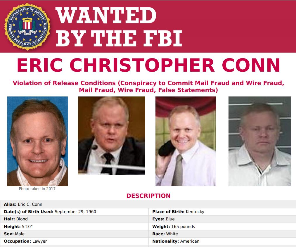 Fugitive Lawyer Eric Conn Caught At Honduran Pizza Hut