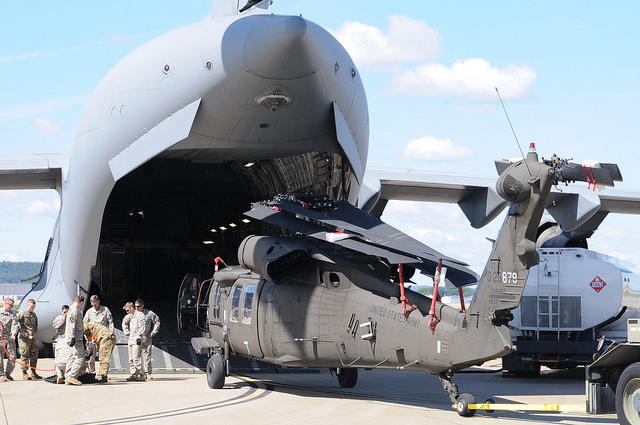 Michigan National Guardsmen heading to Florida by plane and by bus
